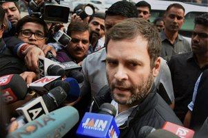 PM invited Sonia, Manmohan under 'public pressure': Rahul
